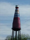 Image for Historic National Road - World's Largest Ketchup Bottle - Collinsville, Illinois, USA.