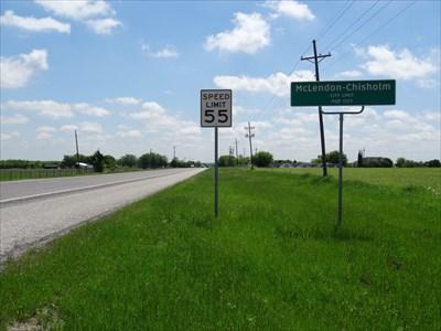 Looking southeast along TX 205, towards Terrell