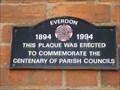Image for Parish Councils - 100 Years - Everdon, Northamptonshire, UK