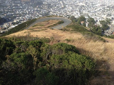 Twin Peaks Switchbacks, San Francisco, CA