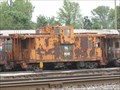 Image for Yellow PAL 9698 Caboose - TRRA Gateway Rail Services Storage Yard, Madison, IL