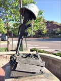 Image for Soldier's Gun and Helmet - Morrison, CO