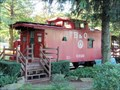 Image for B & O Caboose 2122  -  Dover, OH