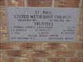 Image for 1882, 1937, 1982 - St. Paul United Methodist Church - Clarksville, TX