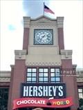 Image for Hershey's Chocolate World town clock - Hershey, Pennsylvania
