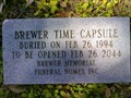 Image for Brewer Time Capsule & Merritt Funeral Home Time Capsule
