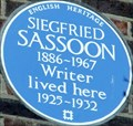 Image for Siegfried Sassoon - Campden Hill Square, London, UK