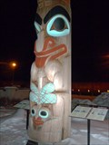Image for Two Brothers Totem Pole - Jasper, Alberta, Canada