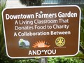 Image for Downtown Farmers Garden - Gainesville, FL