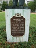 Image for MacArthur Square Historical Marker