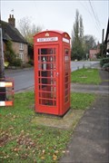 Image for Red Telephone Box - Bretford Warwickshire
