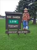 Image for Smokey Bear at Kenton Ranger Station - Trout Creek, MI