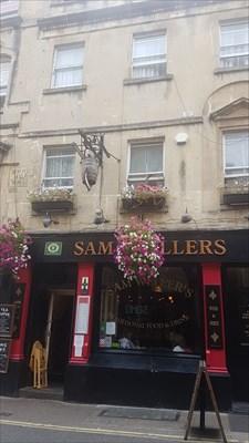 Sam Wellers - Upper Borough Walls - Bath, Somerset