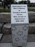 Image for Afghanistan-Iraq War Memorial - St. Thomas, Ontario
