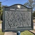 Image for Fort Henderson - Athens, AL