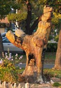 Image for Bear Tree Carving - Newark, Ca