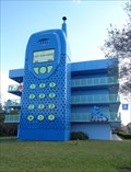 Image for Giant Cell Phone - Satellite Oddity - Lake Buena Vista, Florida. USA