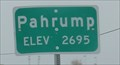 Image for 2695ft -- NV SH 160 at west city limit, Pahrump NV