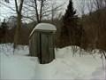 Image for La toilette du refuge Charles D. Campbell - St-Adolphe d'Howard, Québec, Canada