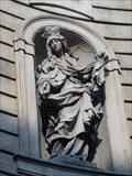 Image for Sv. Ludmila na kostele sv. Františka z Assisi - Praha, Czech republic