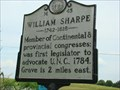 Image for M-45 WILLIAM SHARPE 1742-1818 - Statesville, North Carolina