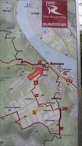 Image for Karte zum Rheinburgenweg - Remagen - RLP - Germany