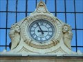 Image for Clock at Batthyany Market Hall - Budapest, Hungary