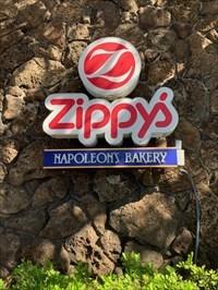 Zippy's Sign, Honolulu, Hawaii
