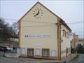 Image for Town clock on a municipal building, Velke Prilepy, CZ