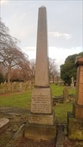 Image for William & Susanna Singleton Obelisk - Canwick Road Old Cemetery - Lincoln, Lincolnshire