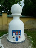 Image for Karlštejnské šachy (no?) - bílý pešec / Chess of Karlstein castle - white pawn (Liten, Czech Republic)