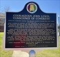 Image for Courageous John Lewis: 'Conscience of Congress' - Troy, AL