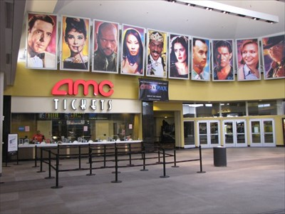 AMC 15 Ticket Booth from the left, Eastridge Mall, San Jose, California