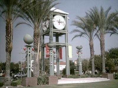 City Of Garden Grove Clock Tower Town Clocks On