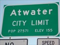 Image for Atwater - 27,571 pop. - CA   USA