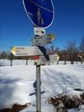 Image for Wegweiser am Rad- und Fußweg - 88239 Wangen, BW, Germany