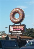 Image for Chocolate Sprinkled Donut at Dunkin' Donuts - Long Beach, CA