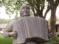Image for Accordionist Statue - Cotati, California