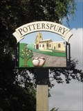 Image for Potterspury Village sign  South Northant's