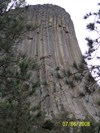 If you zoom into this picture you will see climbers on the Tower, by MountainWoods