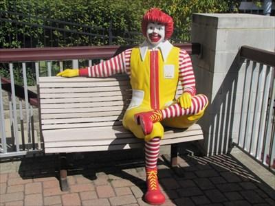 Ronald McDonald Bench, Cincinnati, OH