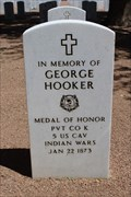 Image for George Hooker - Fort Bliss National Cemetery - El Paso, TX