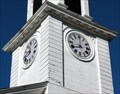 Image for The Congregational Church Clock. South Deerfield, MA