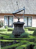 """Image for Sundial in the """"Openluchtmuseum"""", Arnhem, the Netherlands."""