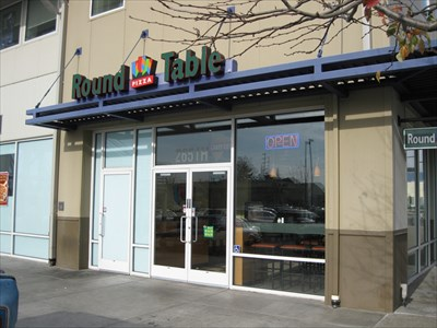 Round Table Pizza Blanding Ave Alameda Ca Pizza Shops Regional Chains On Waymarking Com