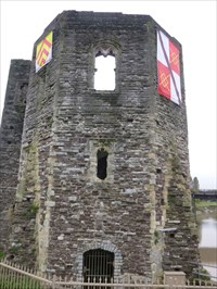 Newport Castle - Satellite Oddity