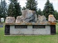 Image for Mark 16:6 and Matthew 28:2 - Fairview Cemetery - Lacombe, Alberta Canada