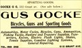 Image for Gus Gocke -- York, NE -- 1908