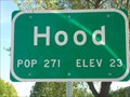 Image for Hood CA - pop.271