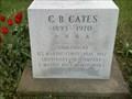 Image for Memorial - C. B. Cates